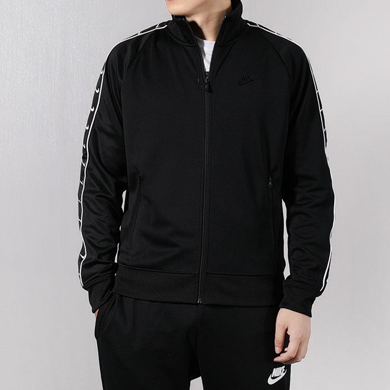 NIKE耐克外套男装2019春季新款运动服立领休闲夹克开衫AR3140-010