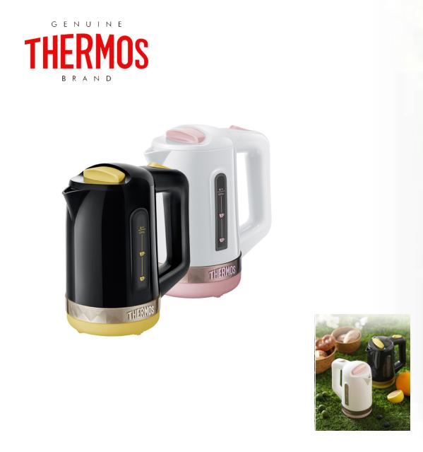 THERMOS/膳魔师 EHA-1361A旅行电水壶出国旅行用便携微型电烧水壶