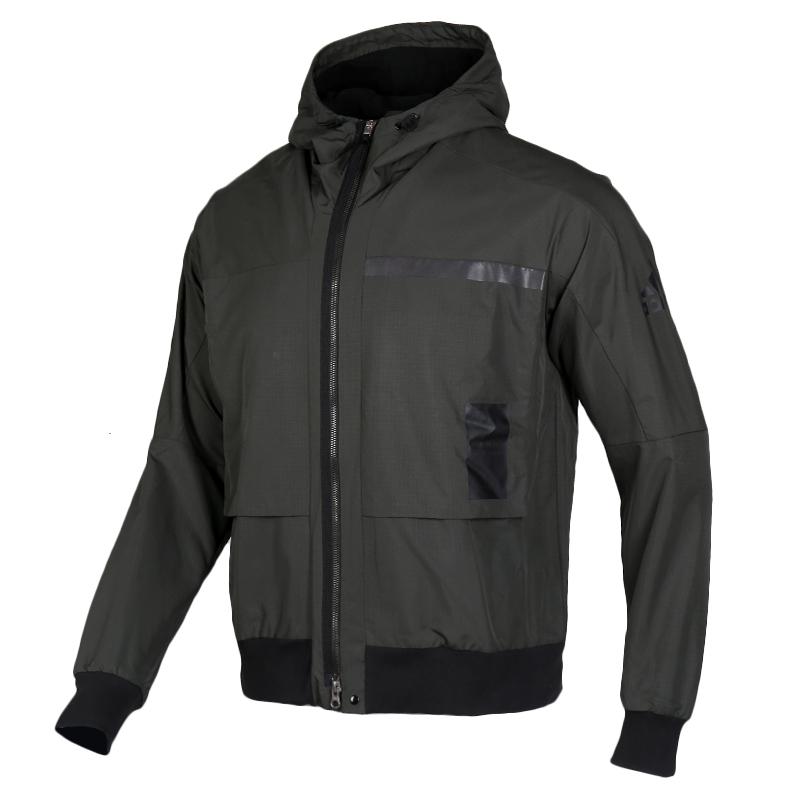 Adidas阿迪达斯外套男装2019冬季新款运动服休闲连帽夹克FJ0262