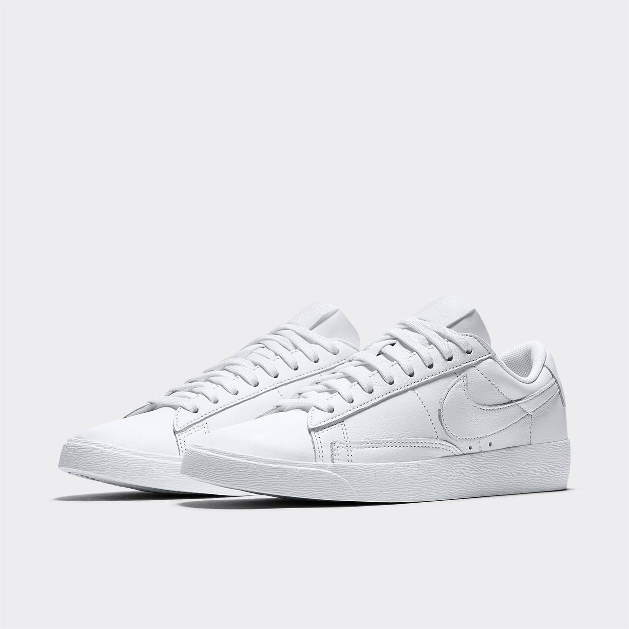 Nike耐克2020年新款女子W BLAZER LOW LE休闲鞋小白鞋AV9370-111