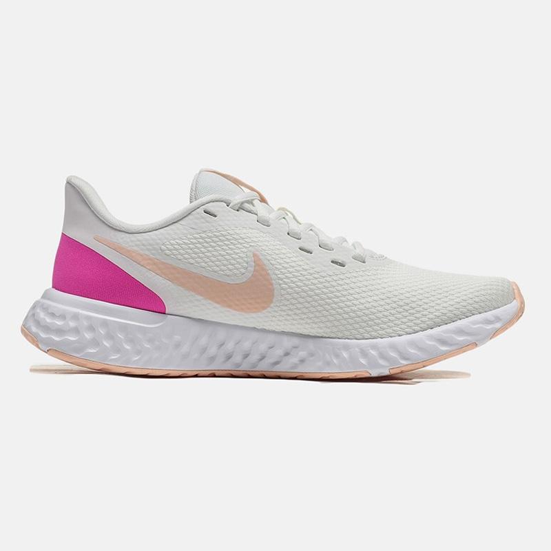 NIKE耐克女鞋2020新款REVOLUTION 5缓震运动鞋跑步鞋BQ3207-103