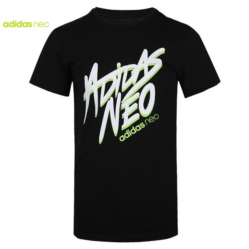 Adidas阿迪达斯NEO2020夏季新品男子休闲运动短袖T恤FP7350