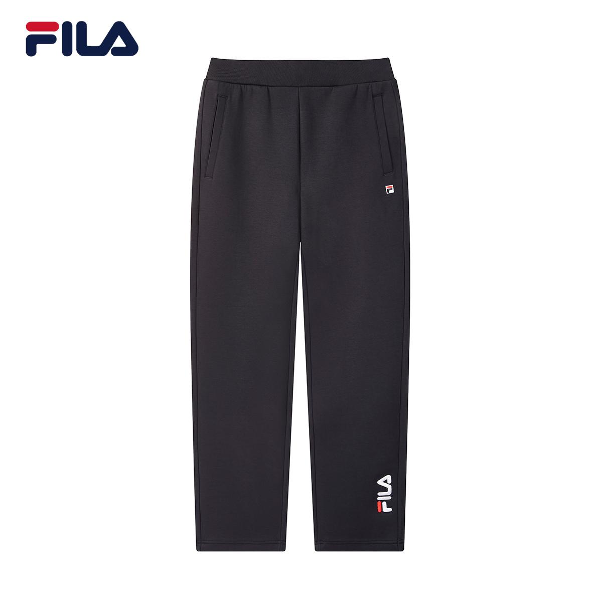 Fila/斐乐2020秋季新品男士针织长裤F11M048624F