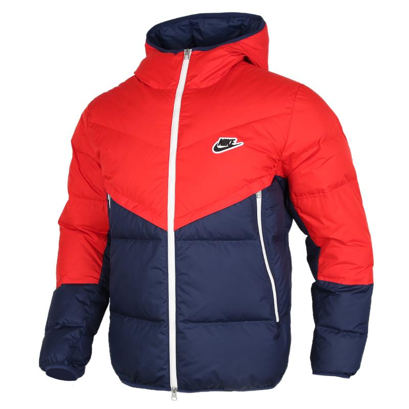 Nike耐克2020秋冬新款男运动保暖连帽短款羽绒服CU4405-673