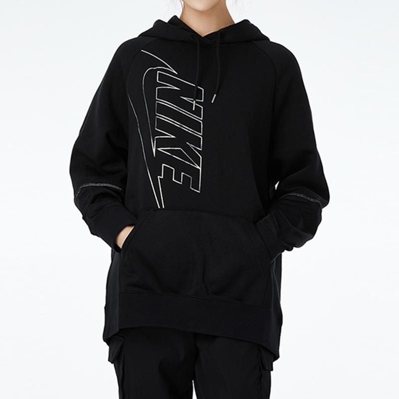 Nike耐克女子卫衣2020冬季新品连帽休闲运动长袖套头衫DC0653-010