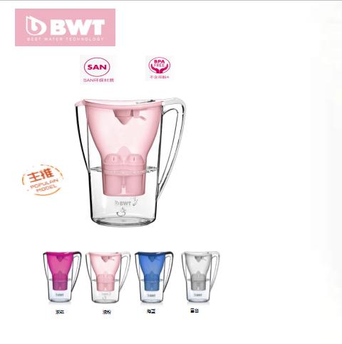 德国BWT净水壶滤芯倍世过滤水壶过滤器净水器滤芯进口镁离子芯