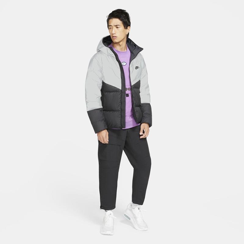 NIKE耐克外套男子2020冬季新款保暖运动休闲羽绒服外套CZ1493-010