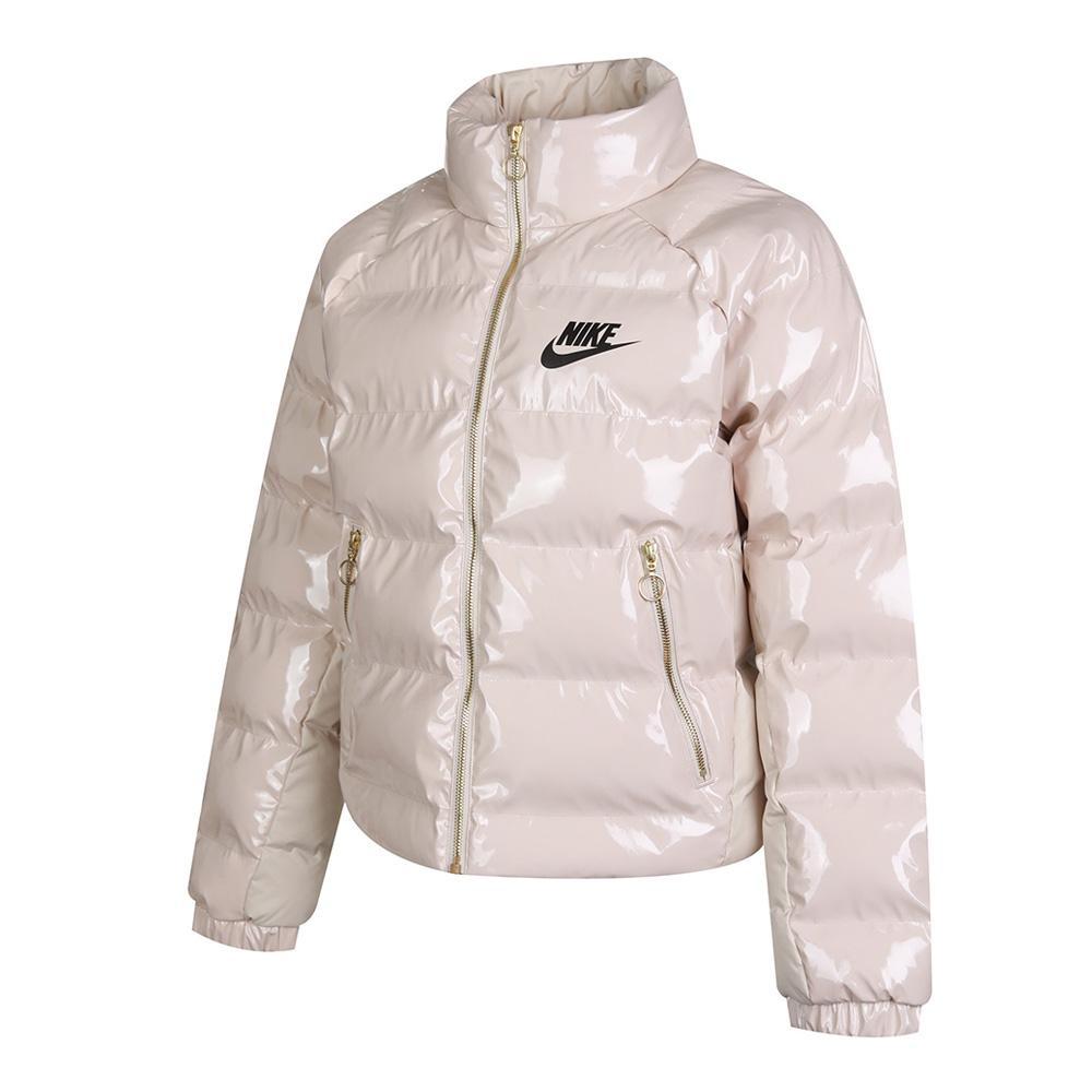 Nike耐克2020年新款女子NSW ICON CLASH OTW SYN棉服CU6713-140