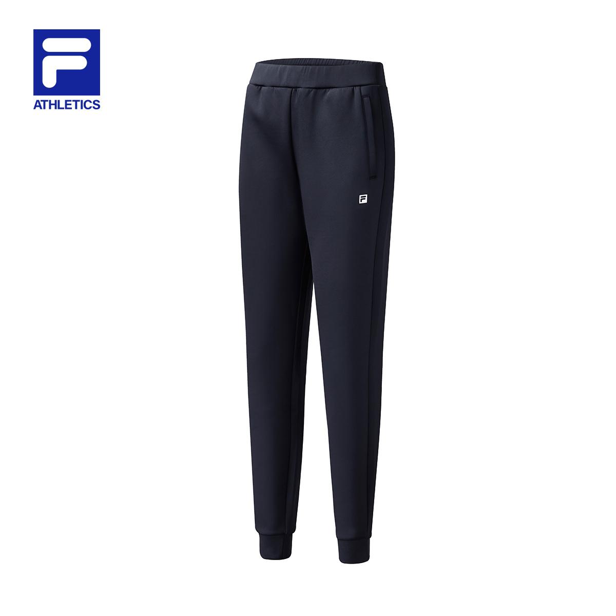斐乐/Fila2020秋季新品女士针织长裤A11W041603F