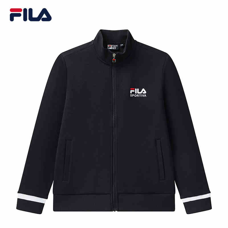斐乐FILA专柜正品2020冬新款男休闲运动长袖针织外套F11M048515F