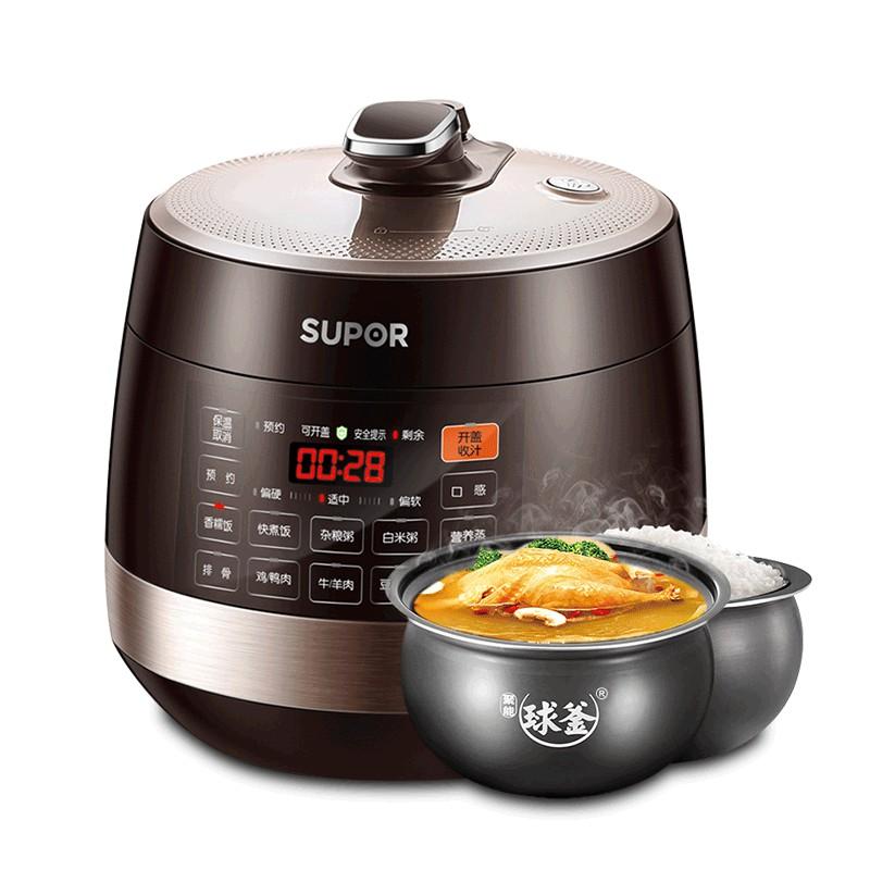 苏泊尔电压力锅家用双胆6L饭煲SY-60YC8001Q