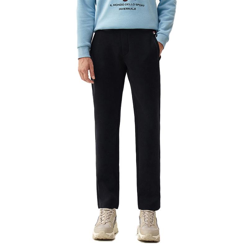 FILA/2020秋冬新款男装风格时尚针织长裤F11M048623F