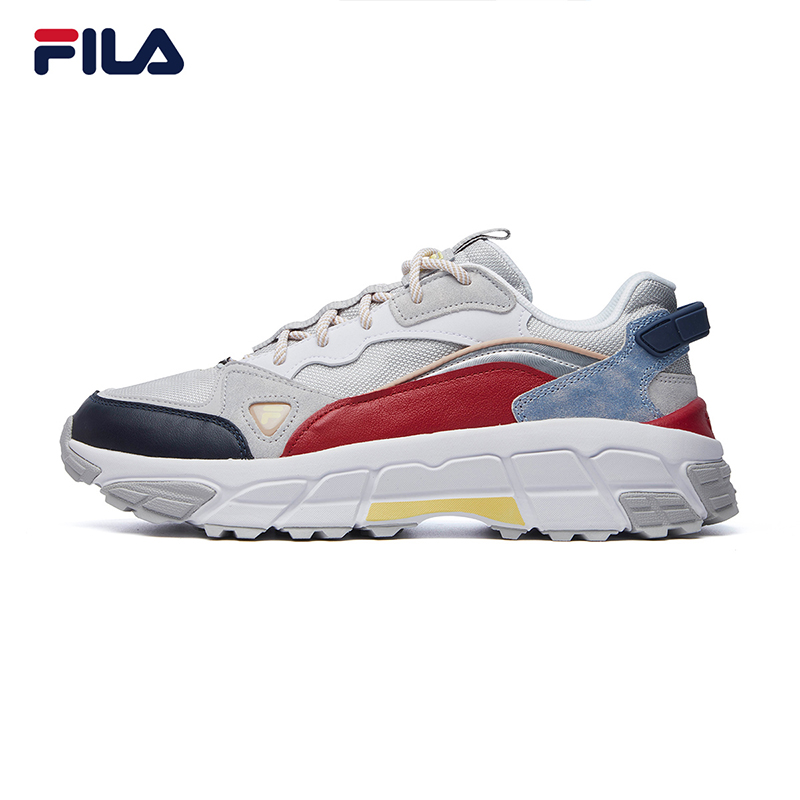 Fila斐乐正品男鞋2020冬低帮登山风老爹鞋户外休闲鞋F12M041132F(三色可选)