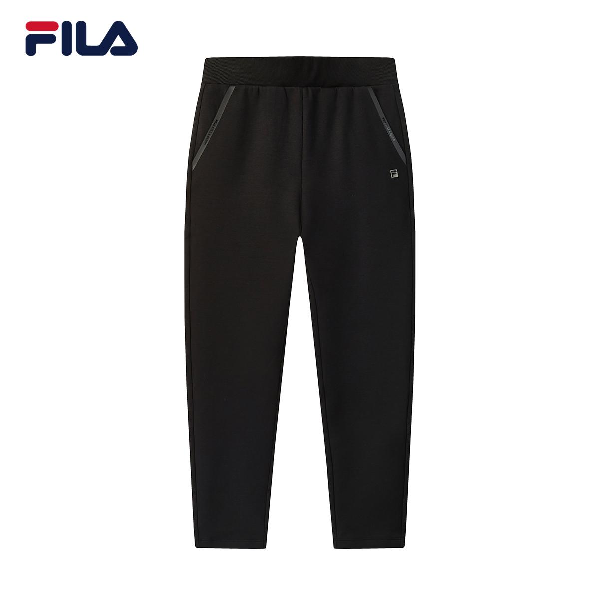 FILA斐乐2020冬款女子休闲针织运动长裤F11W048623F