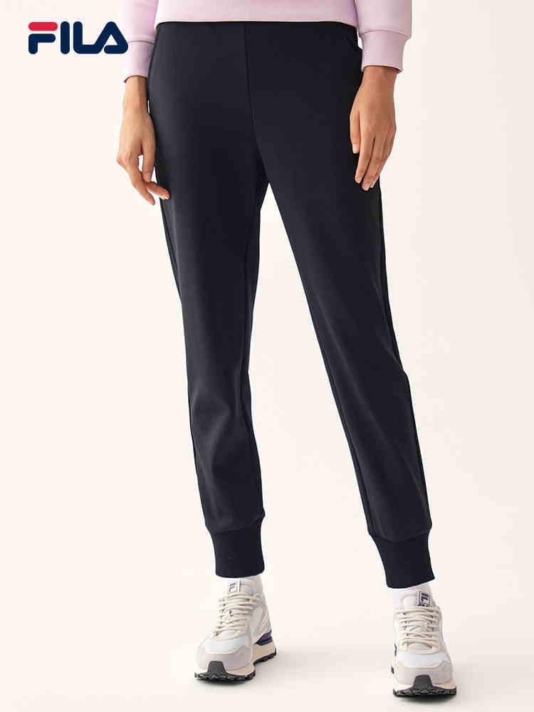 Fila/斐乐2020秋季新品女子针织长裤F11W048625F