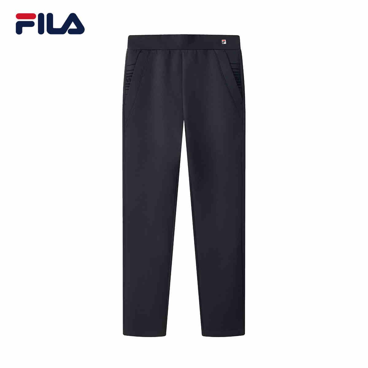 FILA/斐乐2020秋冬新款女装印花时尚运动长裤F11W041603F