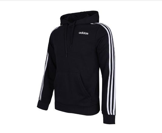 adidas阿迪达斯男子E 3S PO FT针织套衫DU0498