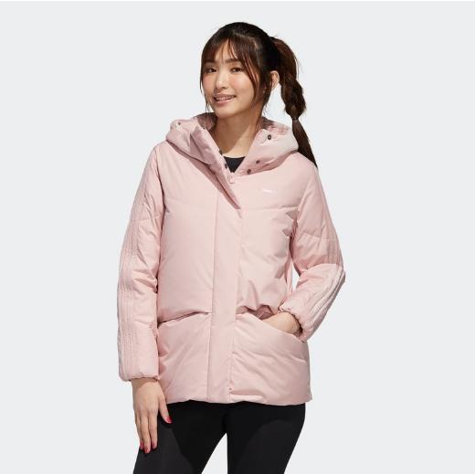 阿迪生活adidas neo 女装冬季运动羽绒服GJ8799