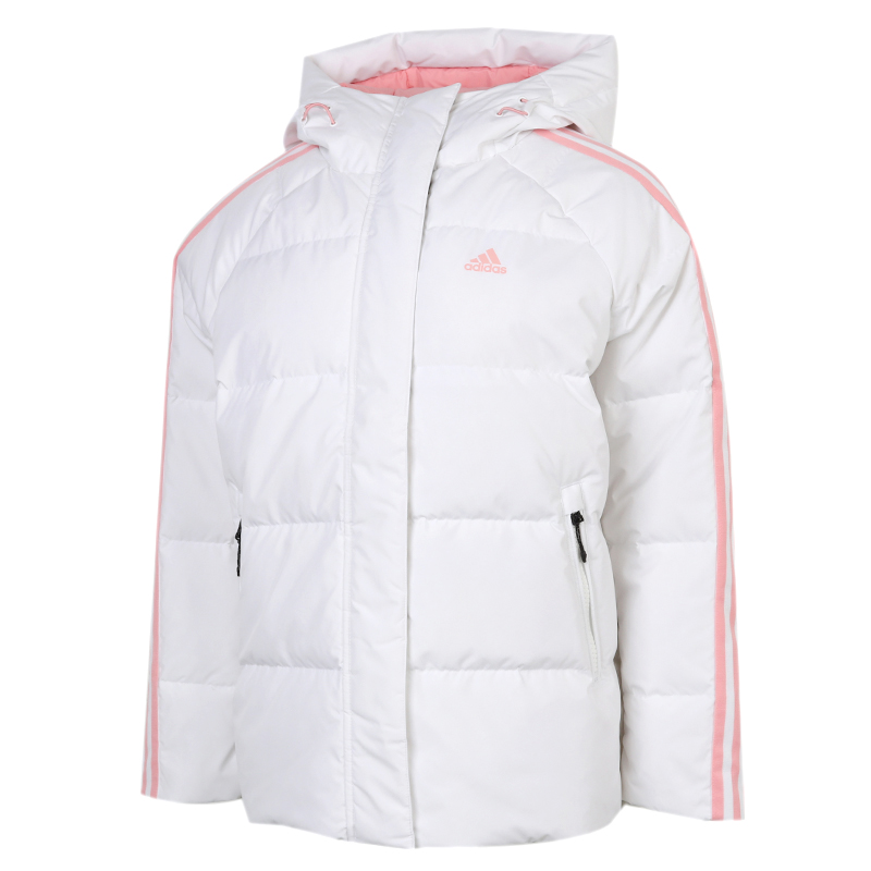 Adidas阿迪达斯外套女装2020冬新款运动服保暖短款羽绒服GF0002