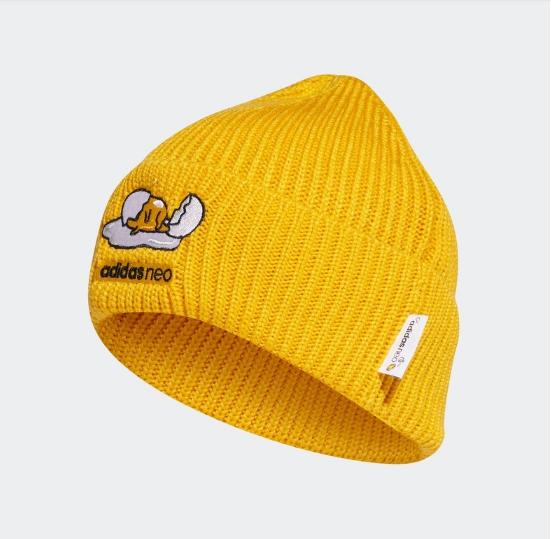 阿迪达斯官网 adidas neo 蛋黄哥联名男女运动帽子GM0134