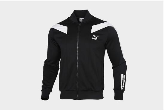 PUMA彪马秋季男子立领跑步训练运动针织夹克外套599220