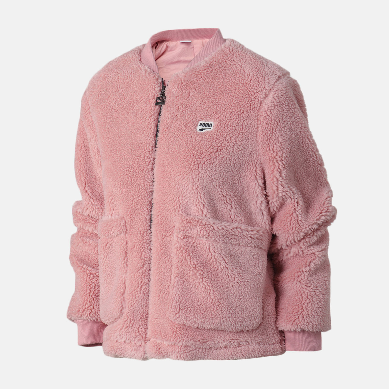 PUMA彪马女保暖休闲外套冬季羊羔绒上衣夹克59914614