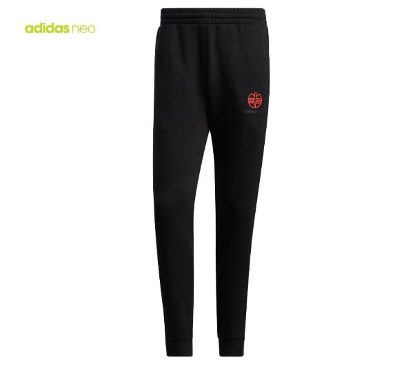 阿迪达斯生活NEO2021春季男子休闲运动长裤 H52971