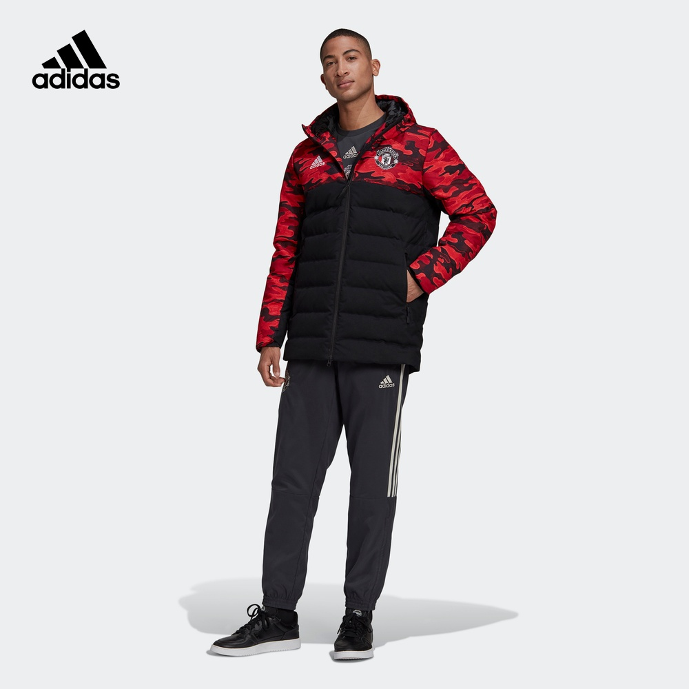 阿迪达斯官网adidas 男装冬季曼联足球运动羽绒服FR3871